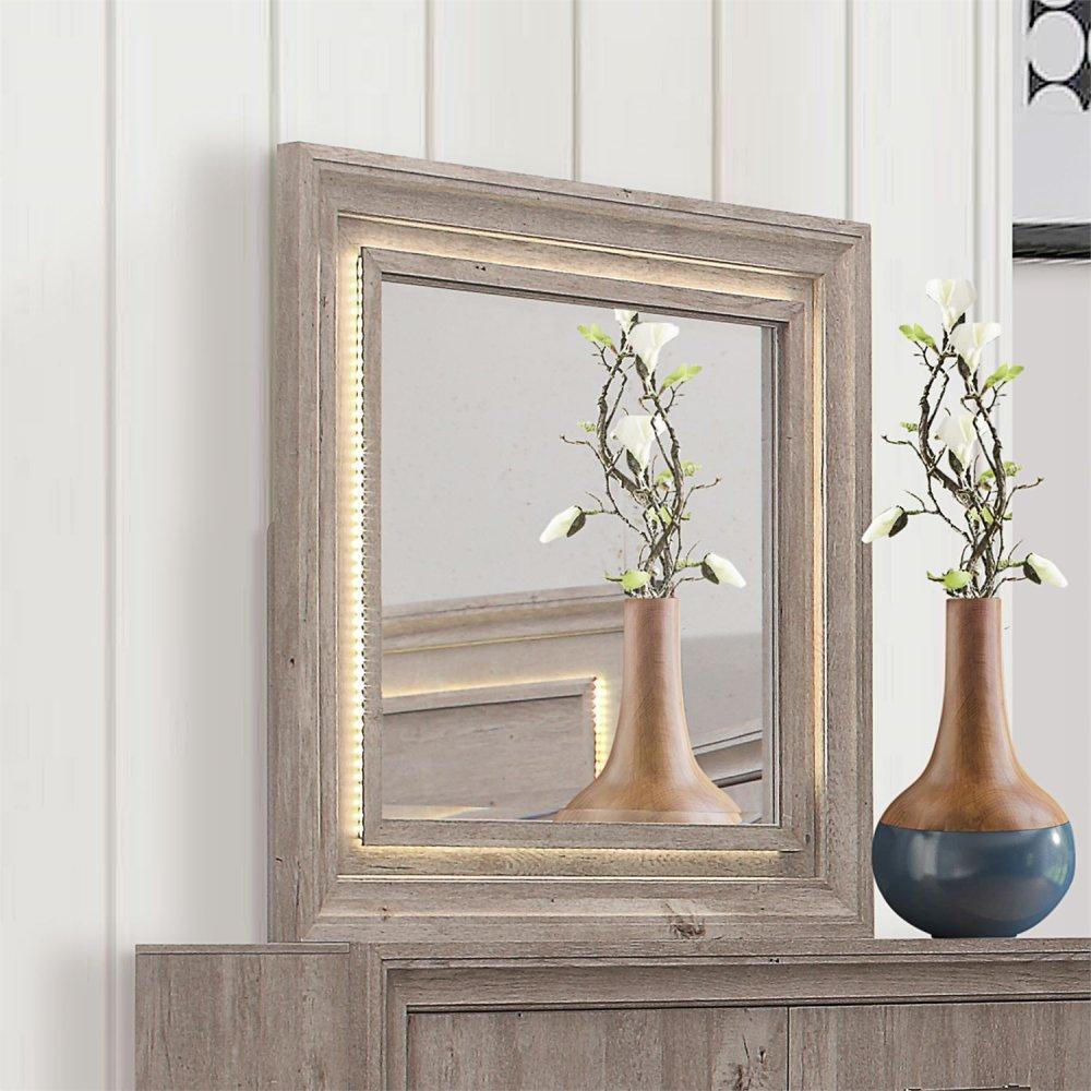 Lighted Landscape Mirror