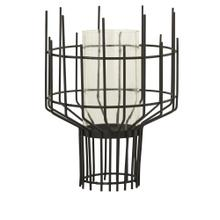 See Details - Large Brynn Industrial Modern Wire Candle Holder