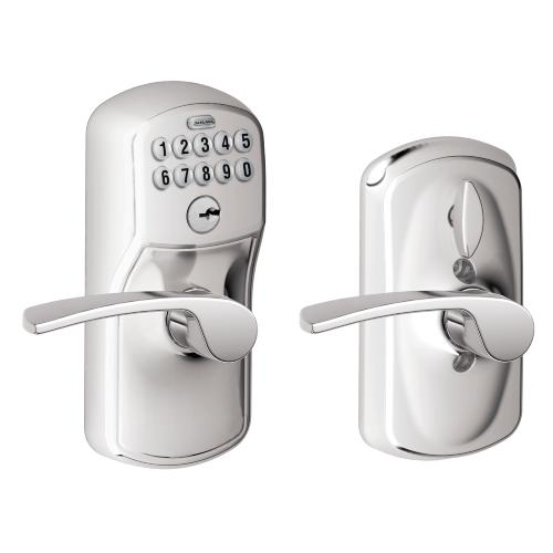 Schlage - Plymouth Style Keypad Merano Lever with Flex Lock