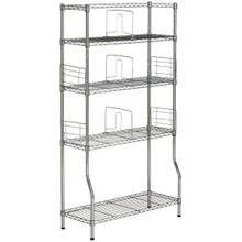 See Details - Fernand Chrome Wire Book Rack - Chrome