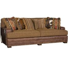 See Details - Casbah Leather/Fabric Sofa