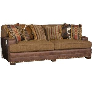 King Hickory - Casbah Leather/Fabric Sofa