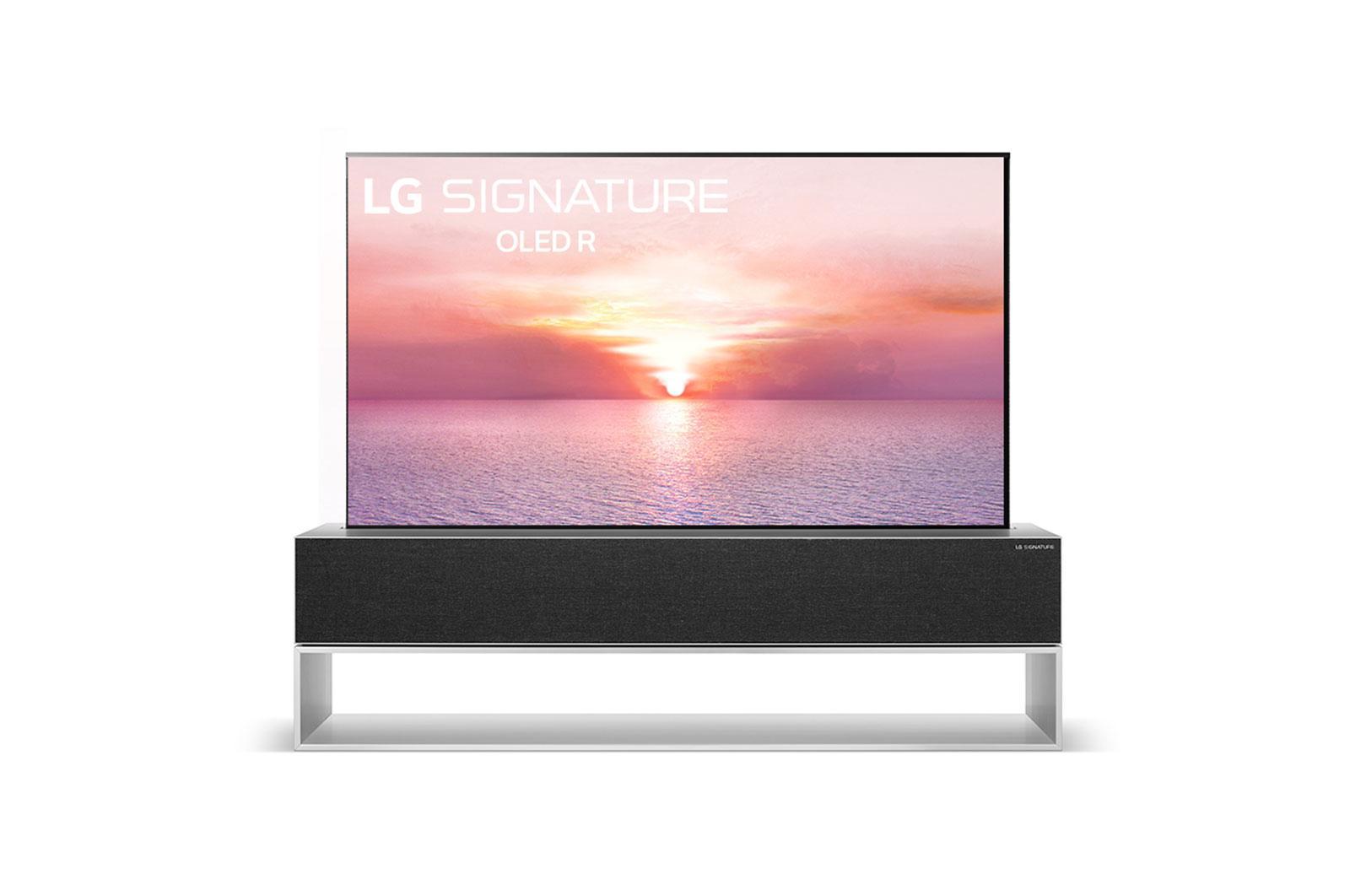 LG SIGNATURE OLED R 65'' Class Rollable 4K Smart TV w/ AI ThinQ® (64.5'' Diag)