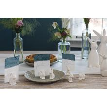 """See Details - Bunny Namecard Holder (Size:2.25""""x 1""""x 1.25"""", Color:White)"""