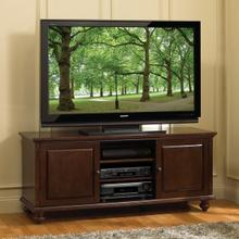 See Details - WAVS335 No Tools Assembly Deep Espresso Finish A/V Cabinet fits most TVs up to 65 inches from Bell'O International Corp.