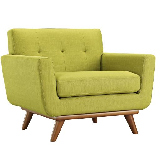 Engage 2 Piece Armchair and Ottoman in Wheatgrass