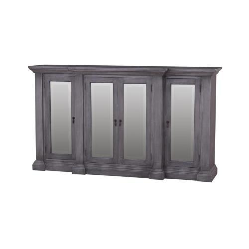 Roosevelt 4 Door MIrrored Sideboard