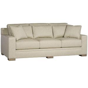 King Hickory - California Fabric Sofa
