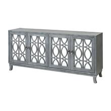 Piotr 4-door Credenza In Grey Wash