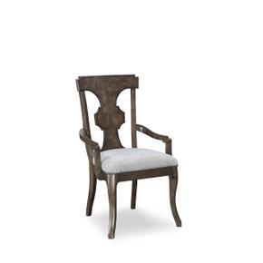 Landmark Splat Back Arm Chair