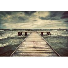 Cloudy Pier