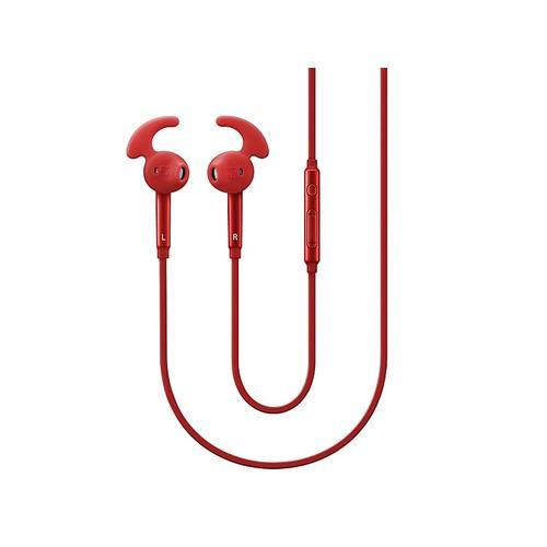 Active InEar Headphones, Red