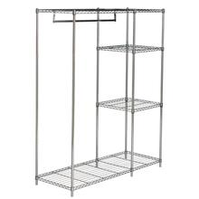 Betsy Chrome Wire Adjustable Garment Rack - Chrome