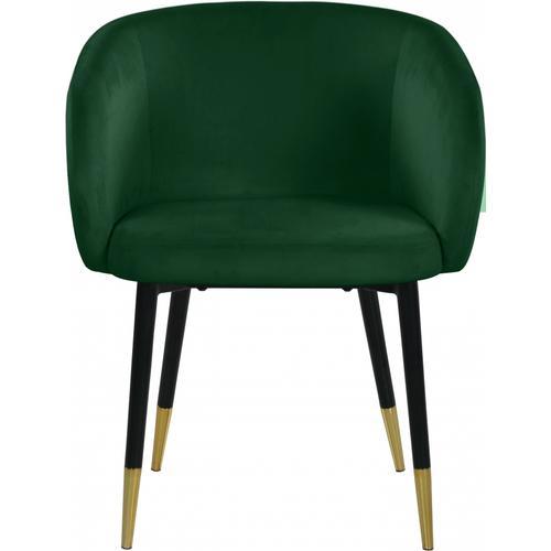 "Louise Velvet Dining Chair - 24"" W x 23.5"" D x 30"" H"