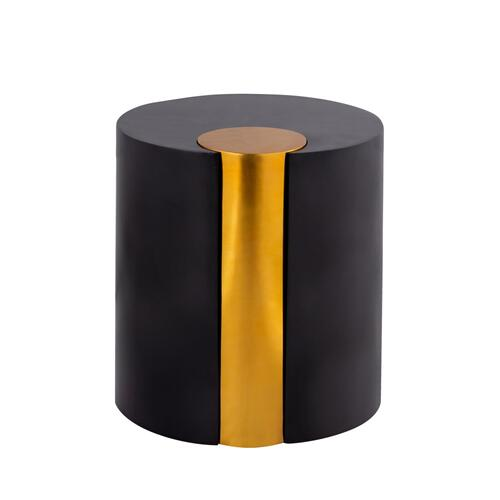 Merigold Round Metal End Table