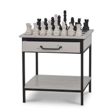 View Product - Iron Chess Table small