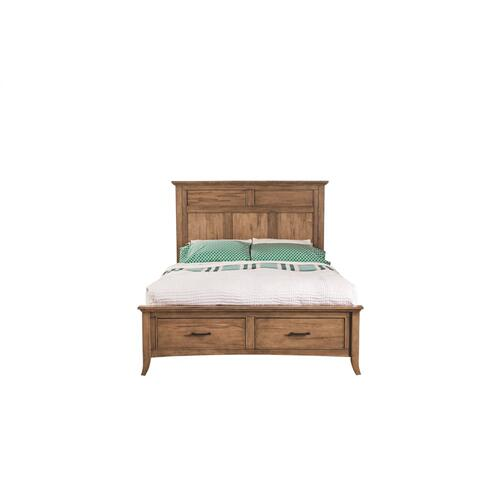 Lockeland Storage Panel Bed