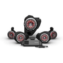 View Product - Ride Command® 3-Way Interface, 1500 watt, Front Color Optix™ Speaker, Subwoofer & Rear Speaker Kit for Select Polaris® RZR® Models (Gen-3)