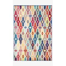 View Product - Hlz12 Blue / Multi Rug