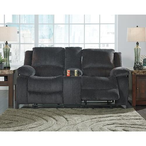 Kellerhause Power Reclining Loveseat With Console