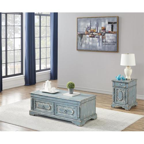 Gallery - 1 Drw 1 Dr Chairside Table