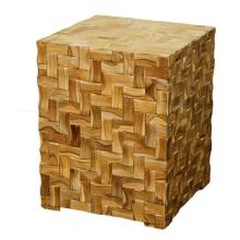 See Details - Cinch Cube Table, Light Natural