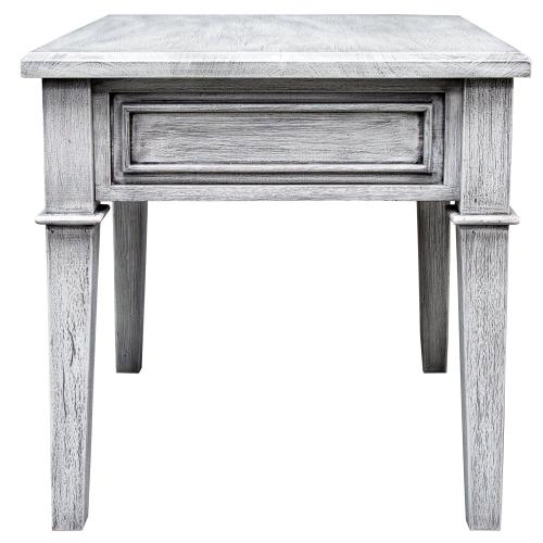 Lamp Table, Available in Distressed White or Distressed Grey Finish.