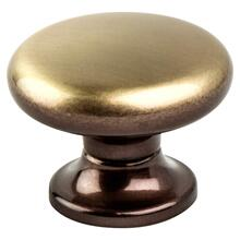 Valencia Brushed Bronze Large Knob