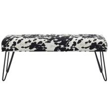 Angus Bench in Black
