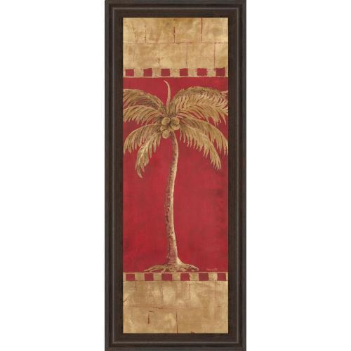 """Palm Pizzazz Il"" By Angela Ferrante Framed Print Wall Art"