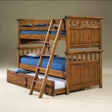 See Details - Twin over Twin bunk beds with trundle
