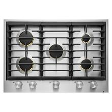 """See Details - Euro-Style 30"""" 5-Burner Gas Cooktop"""