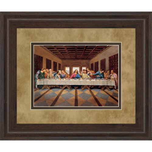 """Last Supper"" Framed Print Wall Art"