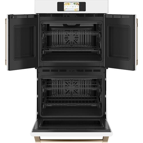 "Café Professional Series 30"" Smart Built-In Convection French-Door Double Wall Oven"