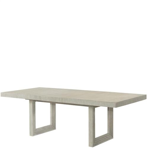 Cascade - Rectangular Dining Table Base - Dovetail Finish
