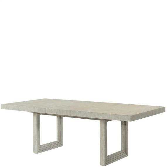 Riverside - Cascade - Rectangular Dining Table Base - Dovetail Finish
