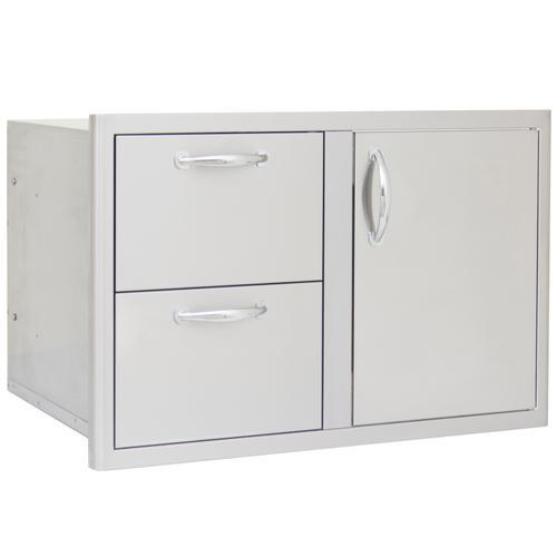 Product Image - Blaze 32 Inch Access Door & Double Drawer Combo