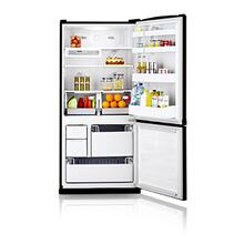 19.6 cu.ft. bottom freezer - black
