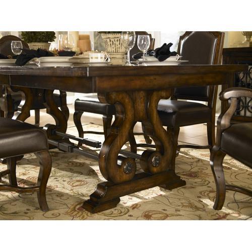 A America - Rectangular Trestle Table