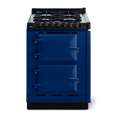 """AGA - AGA Classic 24"""" Dual Fuel Module, Dark Blue"""