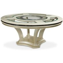 Pearl Caviar Round Dining Table (2 pc)