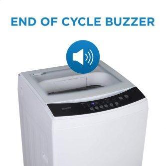 Danby Compact 3.0 Cu.Ft White Top Load Washing Machine