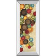 """Wednesday Whimsy Il"" By Jeni Lee Mirror Framed Print Wall Art"