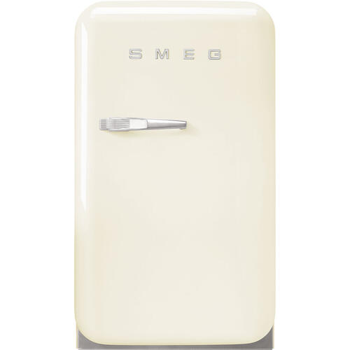 Retro-Style Mini Refrigerator, Right-hand hinge, Cream