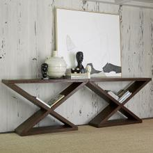 See Details - Salone Scuro Double-V Console Table