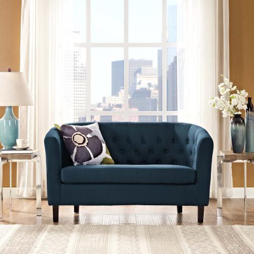 Modway - Prospect Upholstered Fabric Loveseat in Azure