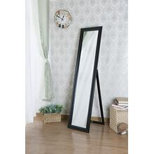 7059 BLACK Modern Full Length Standing Mirror