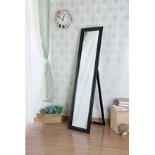 See Details - 7059 BLACK Modern Full Length Standing Mirror