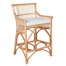 Winston Rattan Counterstool-Natural
