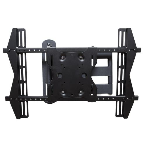 "Dual Arm Articulating (Full Motion) Outdoor Weatherproof Mount for 42"" - 65"" TV Screens & Displays - SB-WM-ART1-M-BL (Black)"